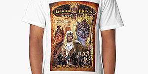 Gathering of Heroes tshirt